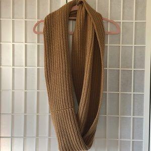 J. Crew Accessories - J. Crew tan infinity scarf